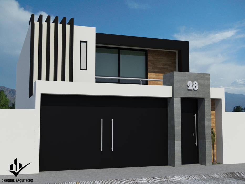 Dehonor Arquitectos Minimalist houses