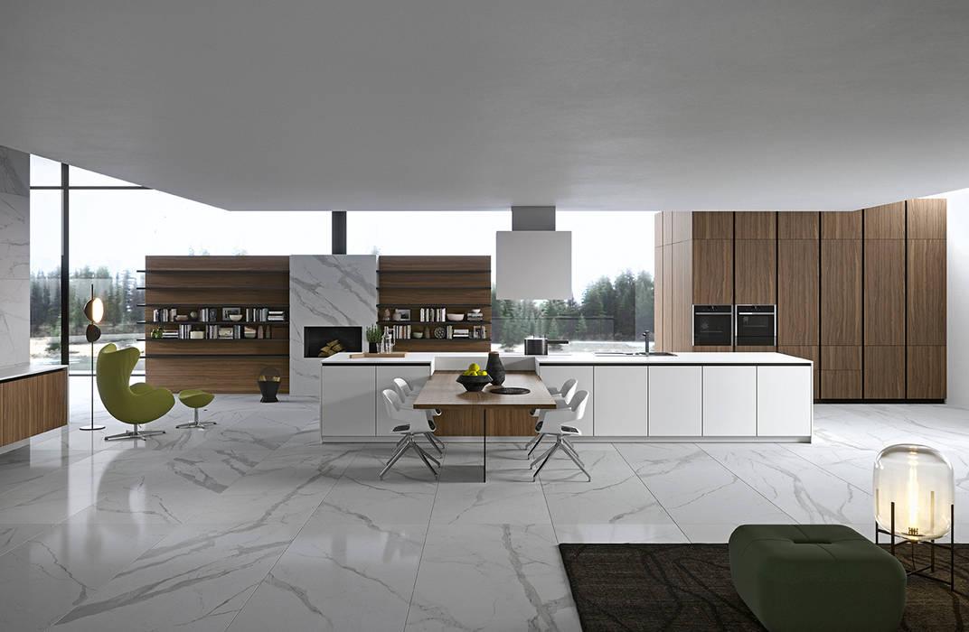 Dibiesse - Vestimi: Cucina attrezzata in stile  di ROOM 66 KITCHEN&MORE