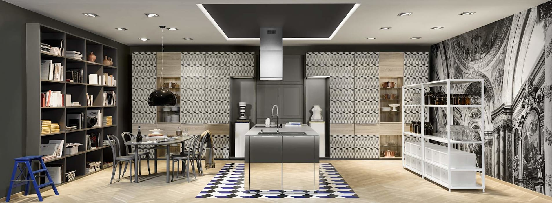 Logic by Nolte: Cucina attrezzata in stile  di ROOM 66 KITCHEN&MORE