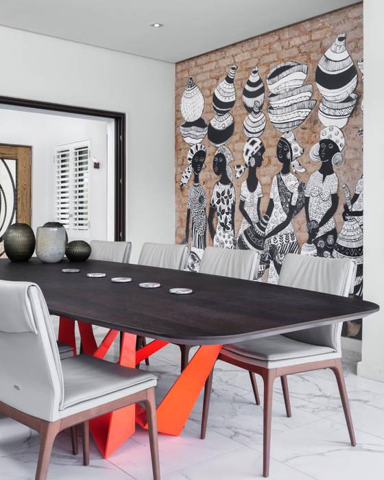 African Art meets European Design Fusion:   by Deborah Garth Interior Design International (Pty)Ltd