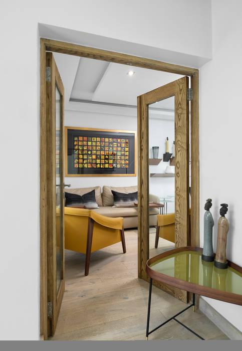 African Study aka Home Office 根據 Deborah Garth Interior Design International (Pty)Ltd