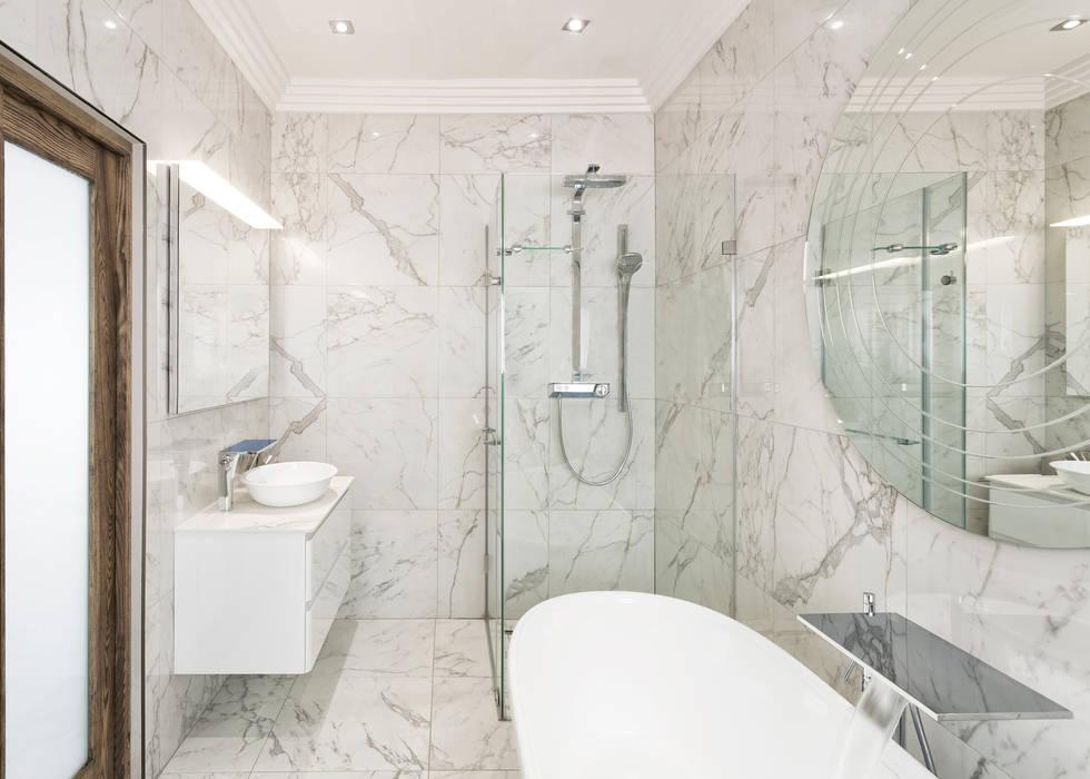 Modern Bathroom 根據 Deborah Garth Interior Design International (Pty)Ltd