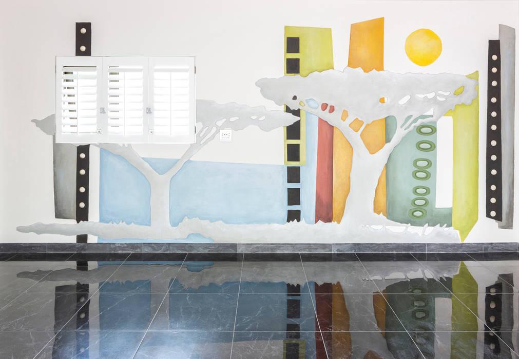 The gallery garage 根據 Deborah Garth Interior Design International (Pty)Ltd