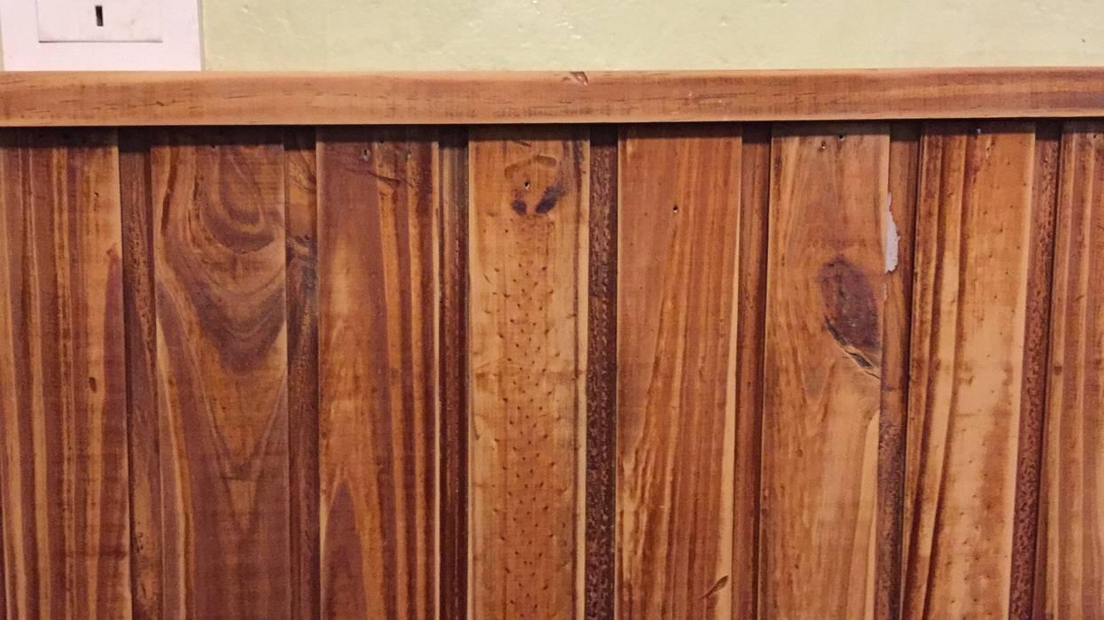 Panel de madera reciclado: Comedores de estilo  por ANADECO - Decoradora y Diseñadora de Interiores - La Plata