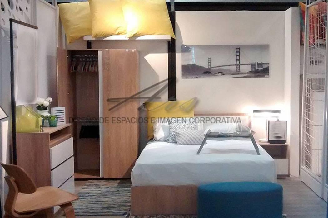 habitación  para adultos : Habitaciones de estilo  por Sara villa diseño interior