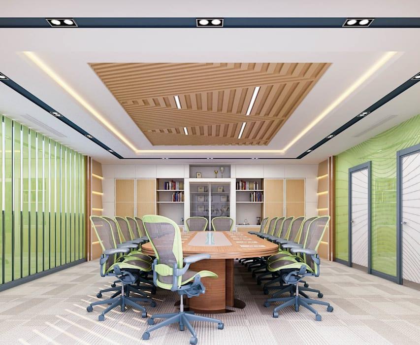 Office @Zaman University:   by DMR DESIGN AND BUILD SDN. BHD.