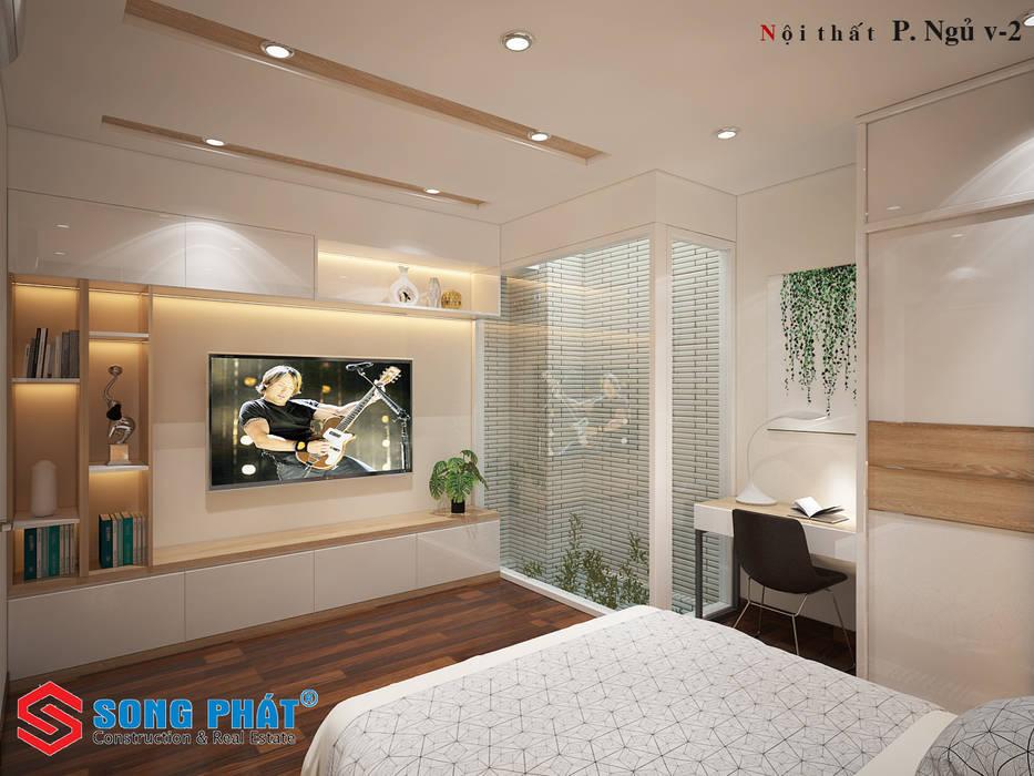 Phòng ngủ by Công ty thiết kế xây dựng Song Phát