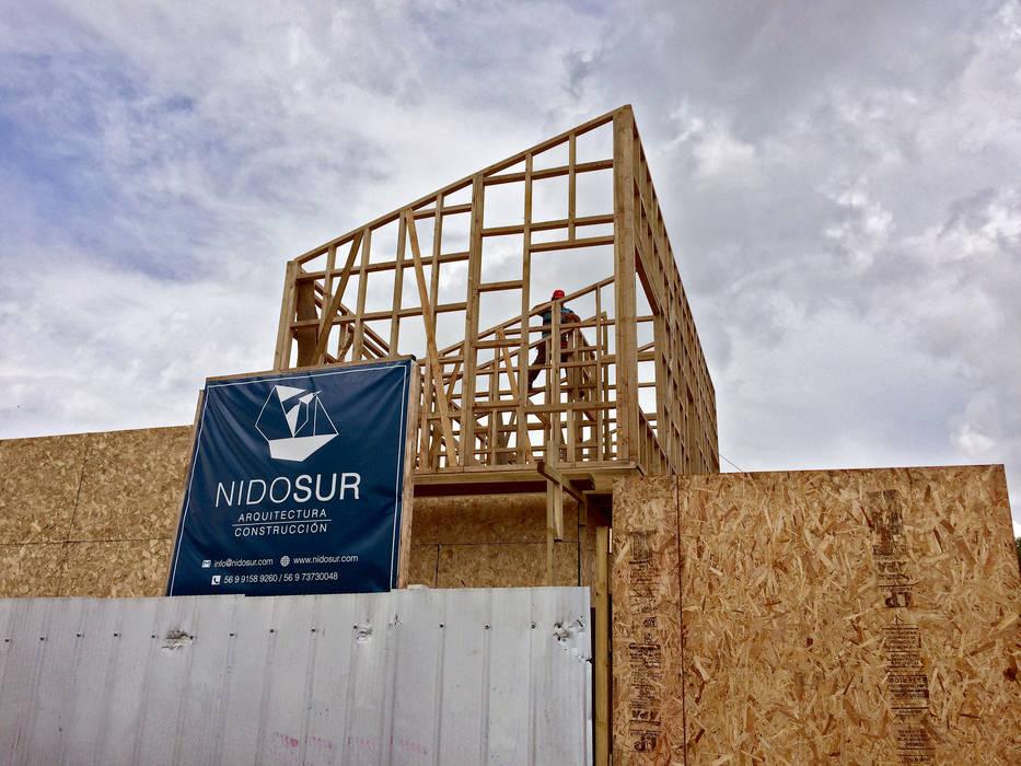 Obra en Construcción de NidoSur Arquitectos - Valdivia Moderno