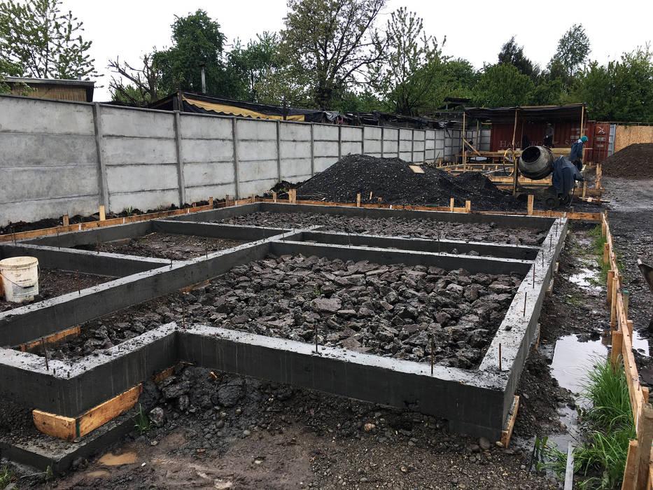 Cimientos NidoSur Arquitectos - Valdivia Condominios