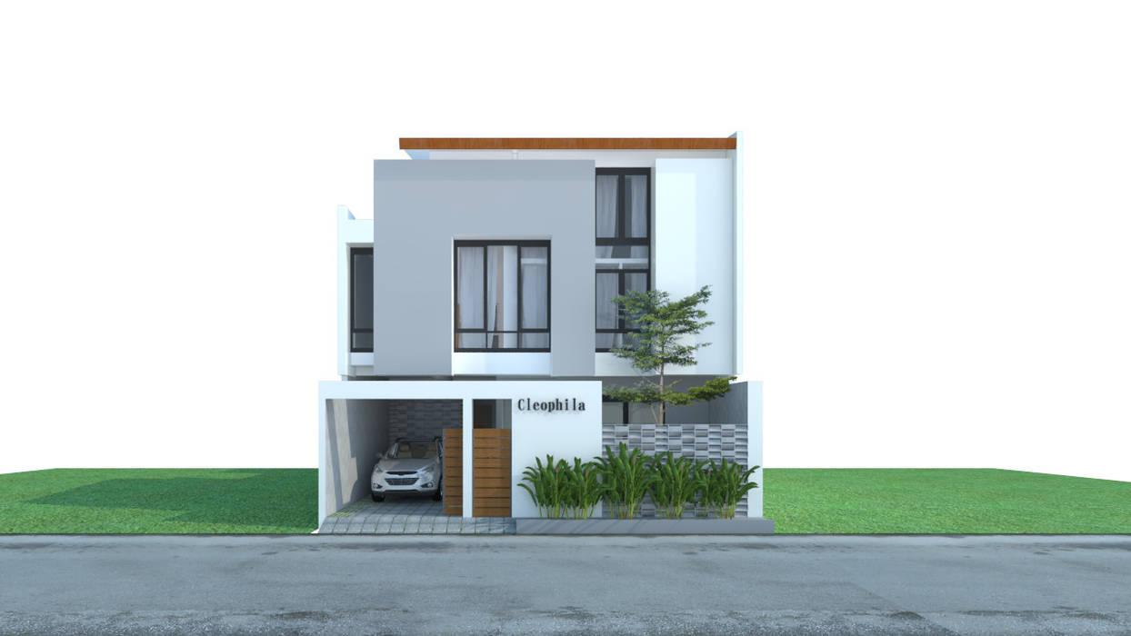 Cleophila house, Surakarta, Jawa Tengah, Indonesia Oleh sawang architect Tropis Beton Bertulang