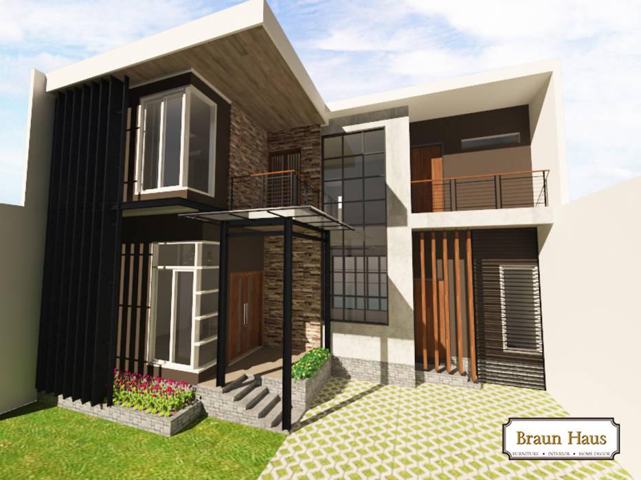 Urban House Braun Haus Rumah Modern