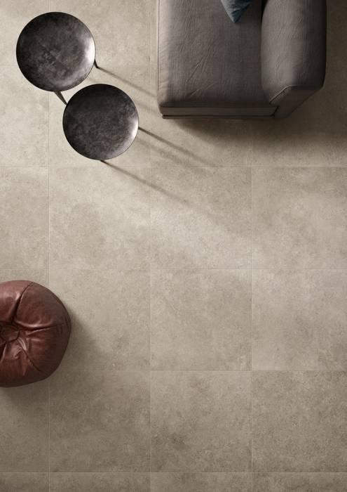 COTTO D'ESTE SHADOW GREY SECRET STONE 90x90: Pavimento in stile  di Italgres Outlet