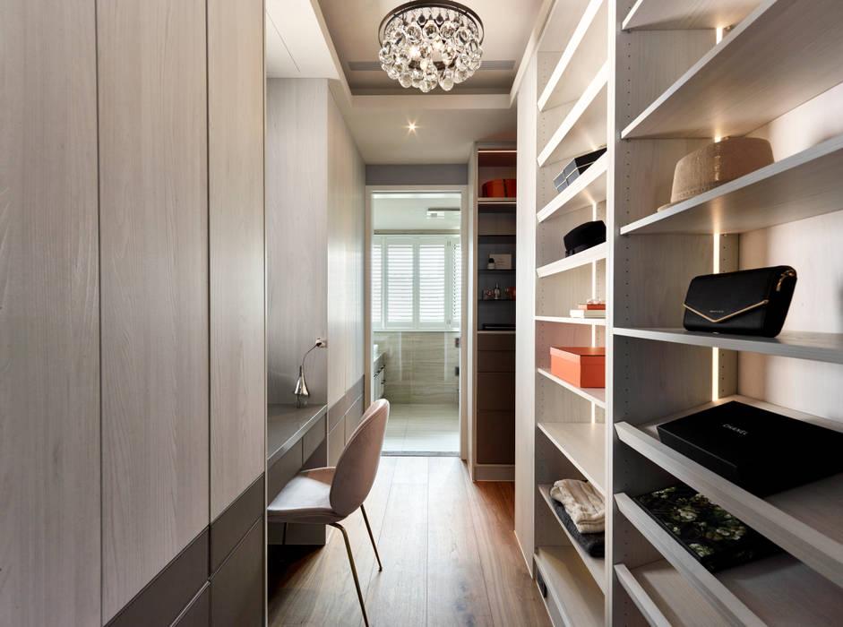 Dressing room by 耀昀創意設計有限公司/Alfonso Ideas