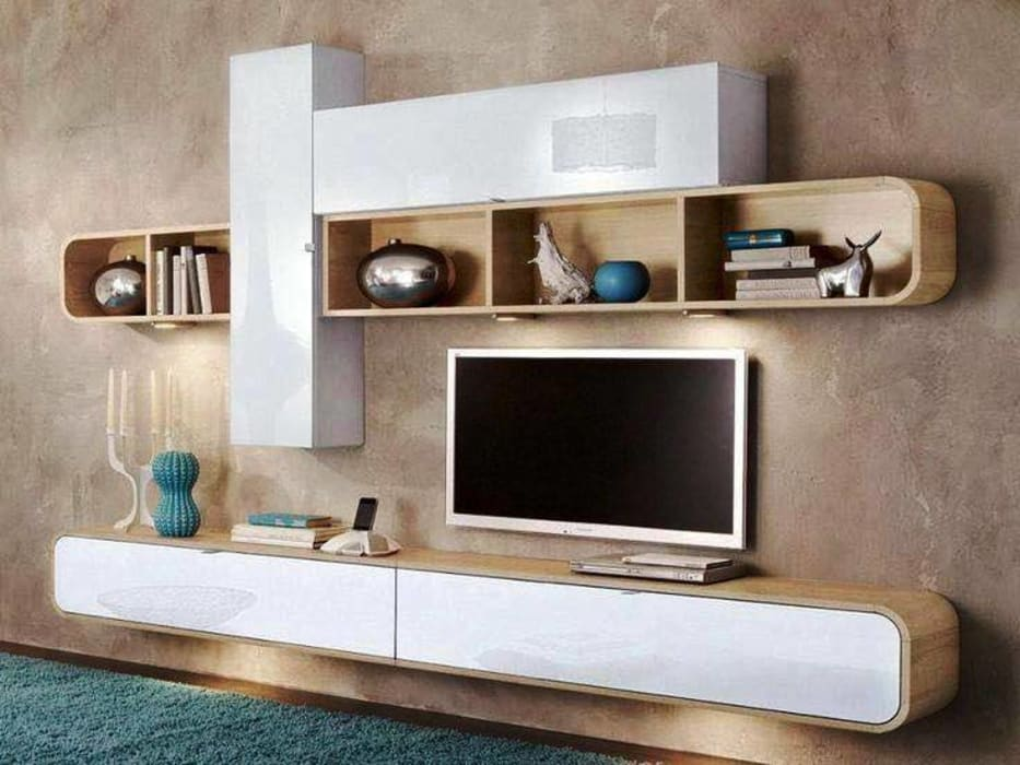Astounding Modern Tv Cabinet Wall Unit Living Room Modern By Innoire Download Free Architecture Designs Scobabritishbridgeorg