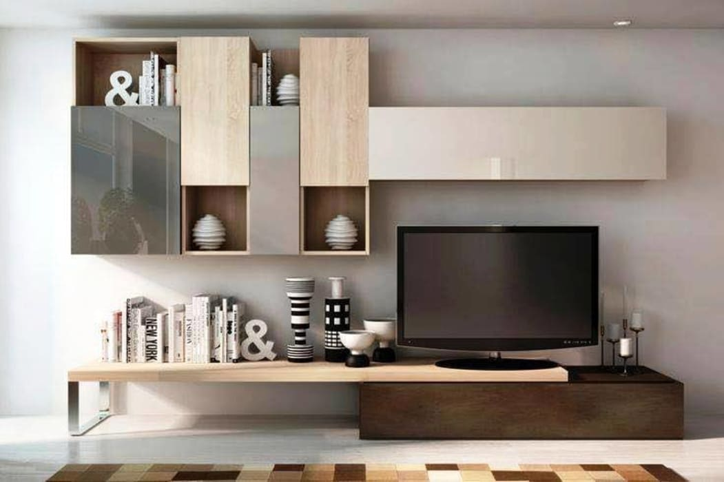 Modern tv cabinet wall unit living room living room by - Tv cabinet designs for living room ...