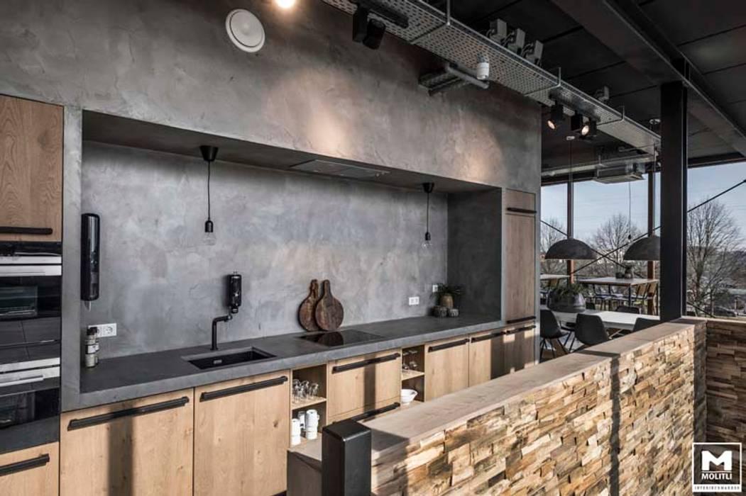 Eminent: industriële keuken door molitli interieurmakers homify