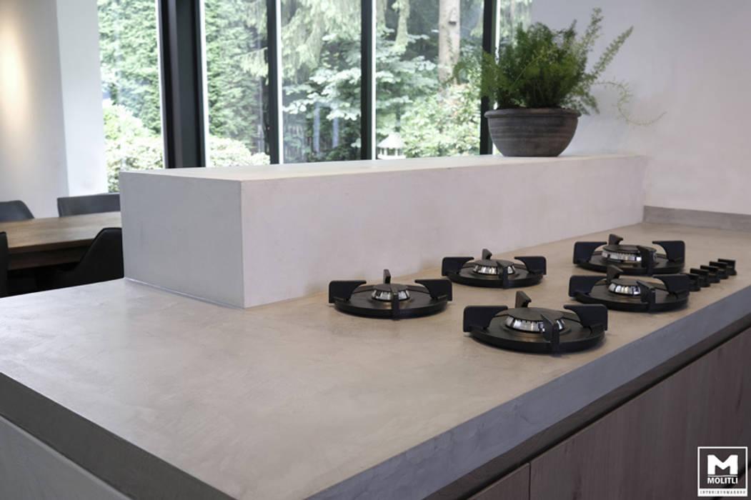 Boswoning in Apeldoorn:  Keuken door Molitli Interieurmakers, Scandinavisch