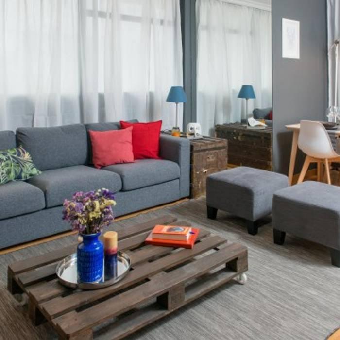 Rita Salgueiro 现代客厅設計點子、靈感 & 圖片