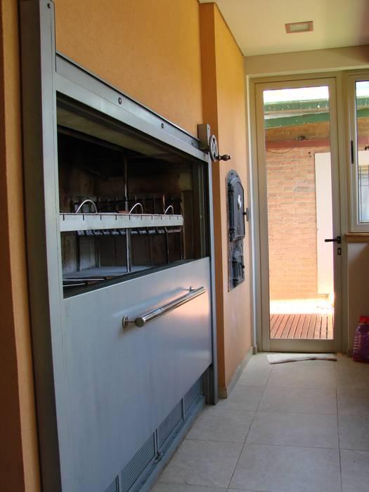 IP - Asador 1 Cocinas modernas: Ideas, imágenes y decoración de Módulo 3 arquitectura Moderno