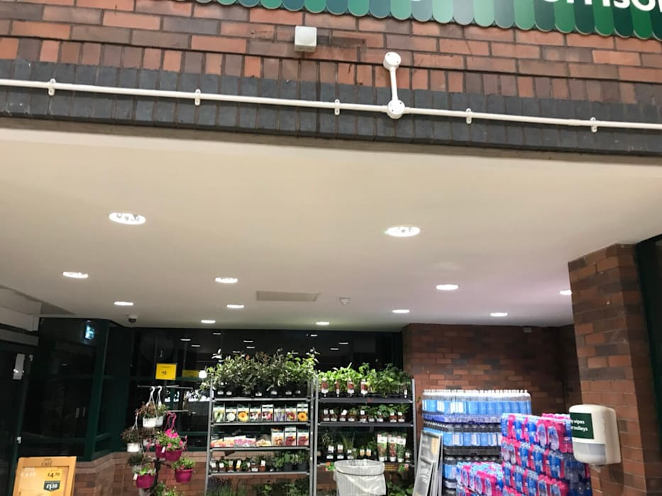 Morrisons Coalville:  Prefabricated home by VM Interiors and Drywall Solutions LTD