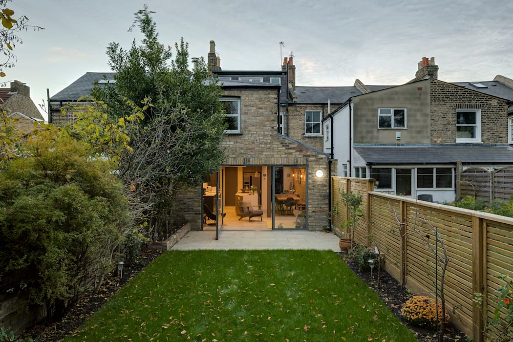Exterior View:  Terrace house by Resi