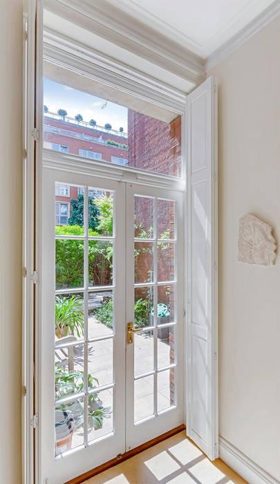 Solid Panel Shutters For Garden Doors Corridor Hallway By Plantation Ltd
