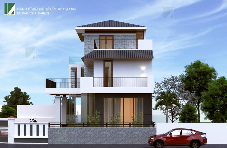de style  par công ty cổ phần Thiết kế Kiến trúc Việt Xanh,