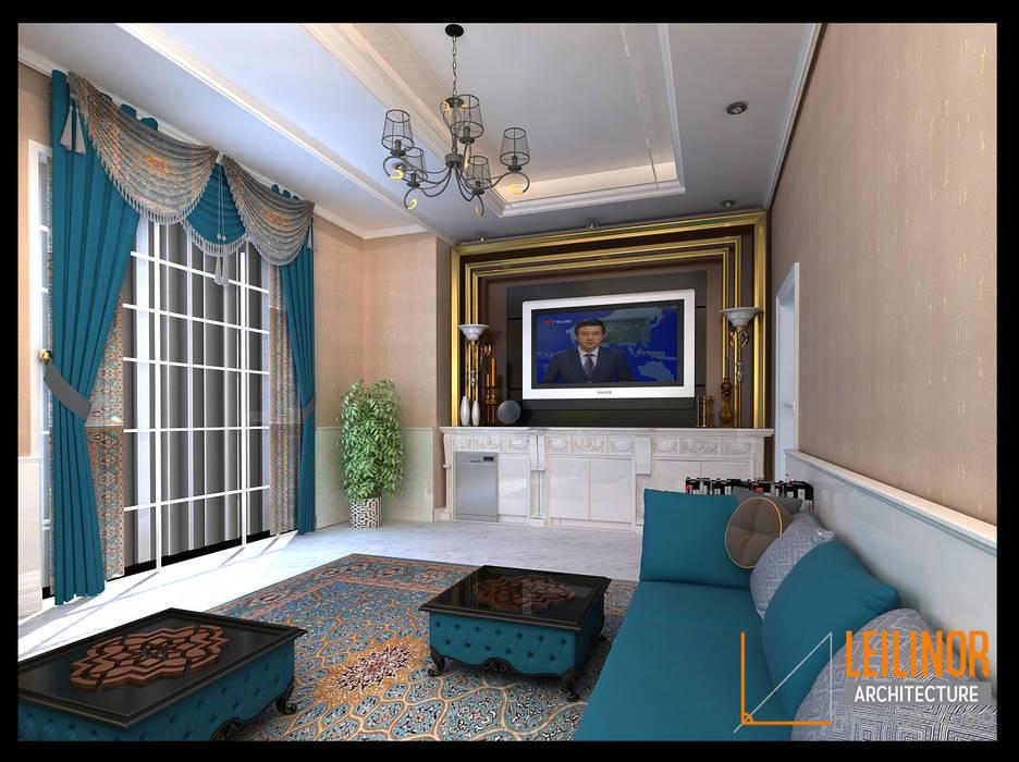 Morrocan Style Interior: Dapur oleh CV Leilinor Architect, Klasik