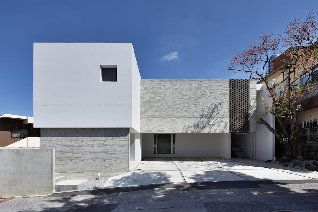 外観: 株式会社クレールアーキラボが手掛けた二世帯住宅です。,オリジナル