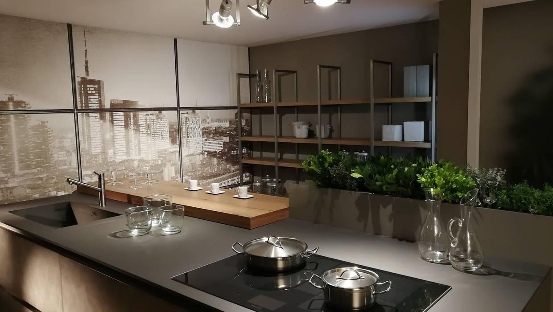 Cucina E Soggiorno Stile Industrial Formarredo Due Design 1967 Cucina In Stile Industriale Grigio Homify