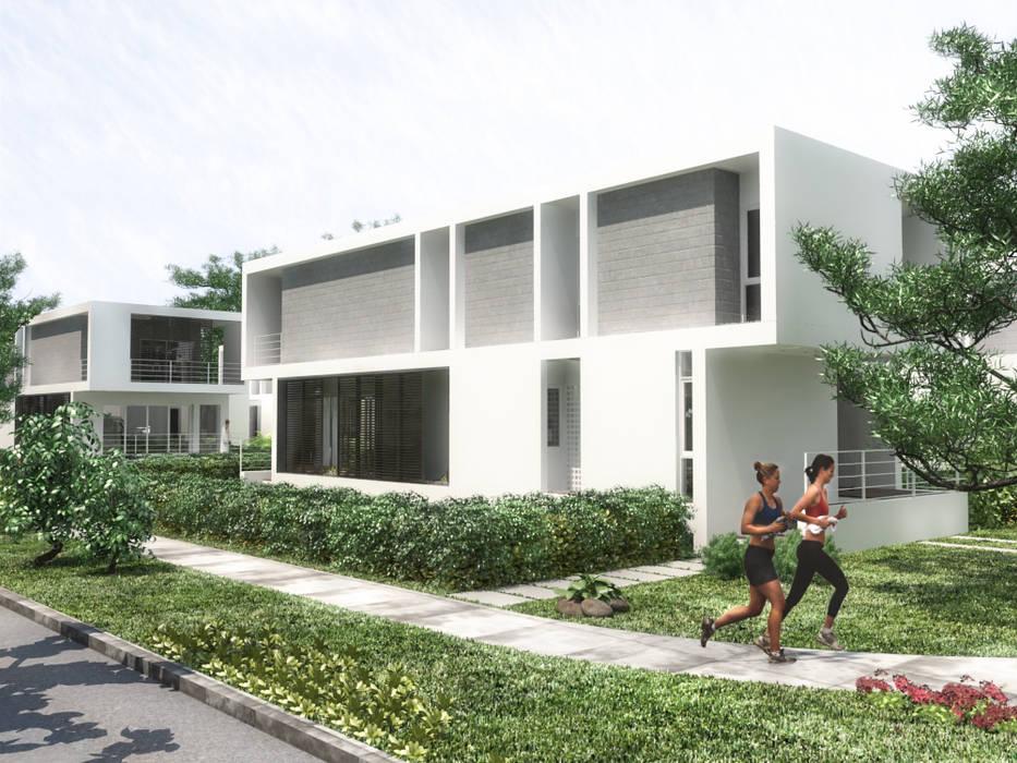 5 Casas en Miami de RRA Arquitectura Minimalista Piedra