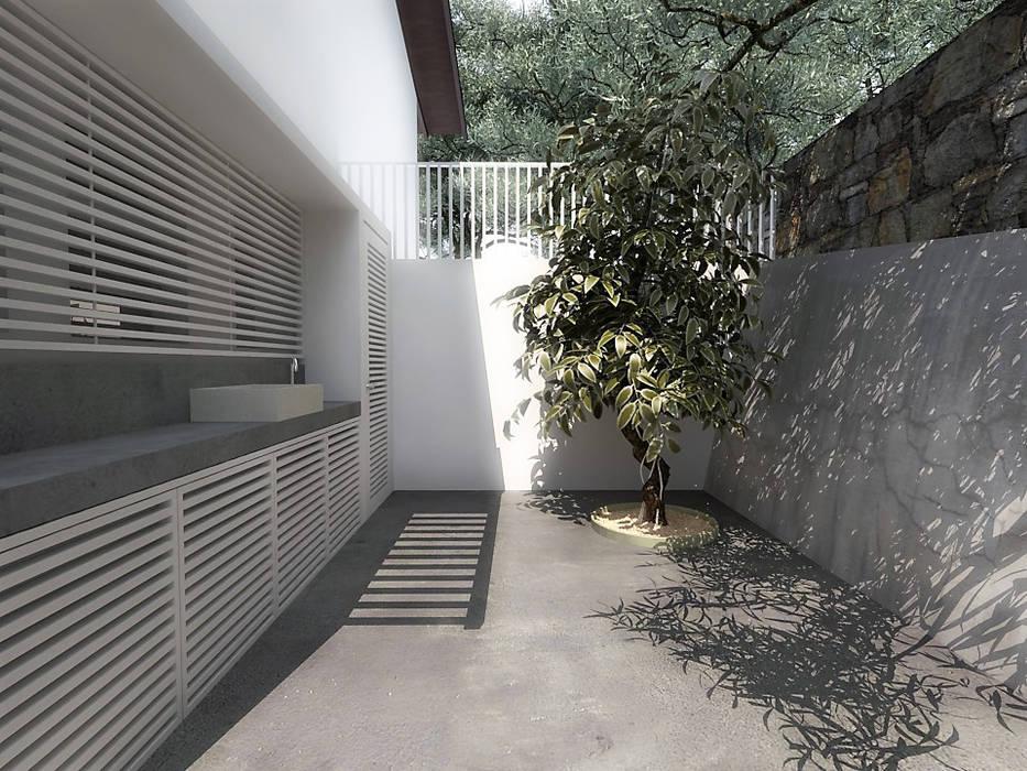 Lomas de Las Mercedes de RRA Arquitectura Minimalista Concreto