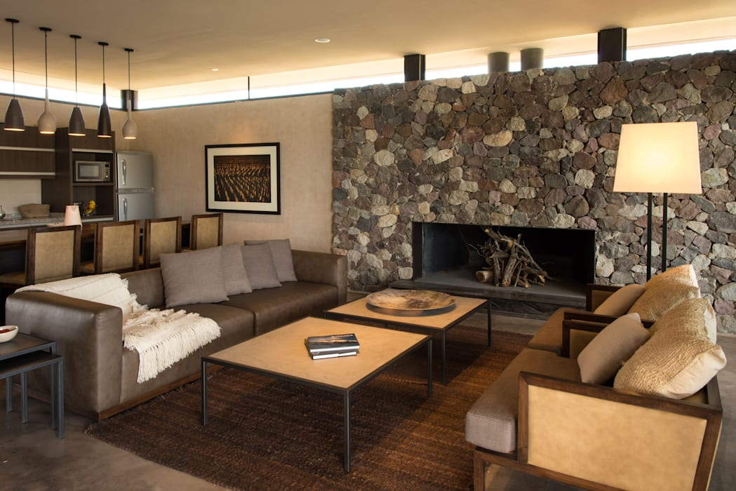 The Vines Resort & Spa | Villas: Hoteles de estilo  por Bórmida & Yanzón arquitectos