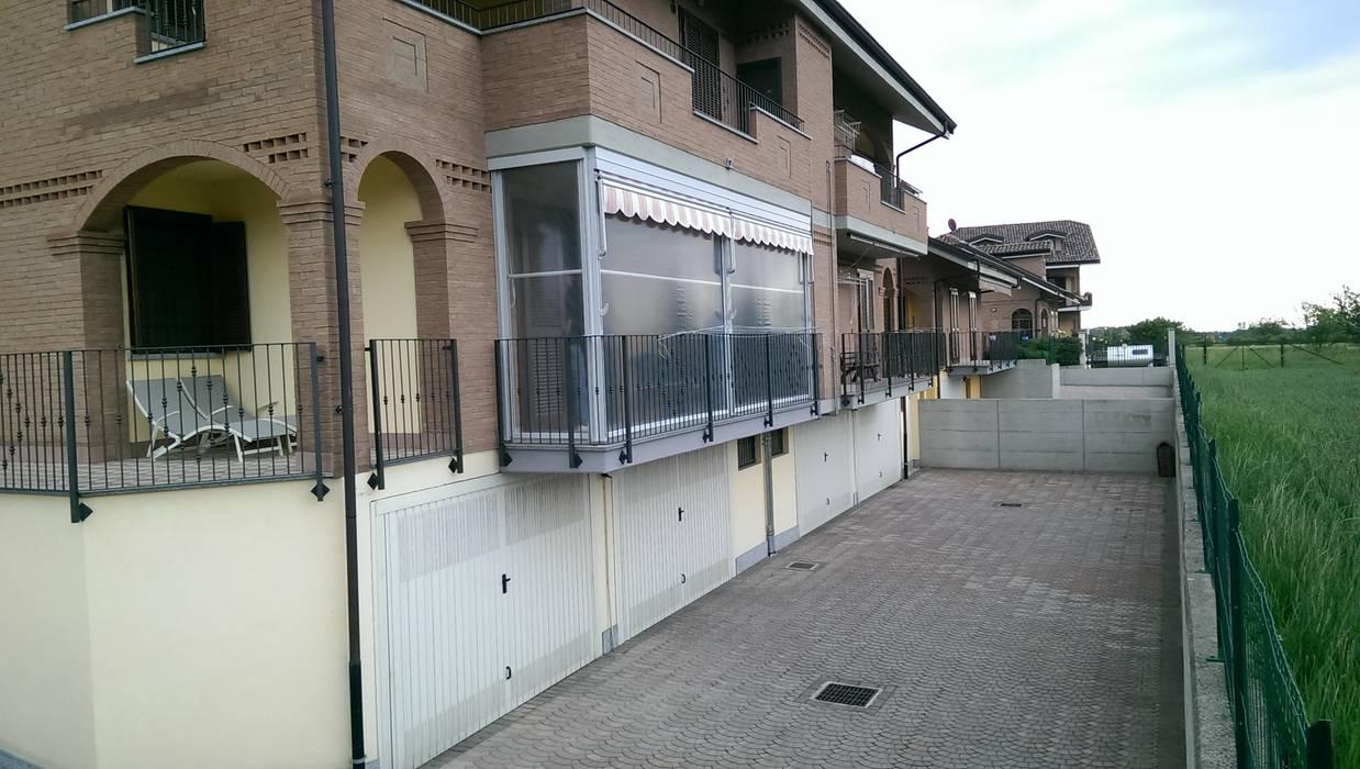 Tende Veranda Torino : Tende veranda a torino e provincia condominio in stile di mita