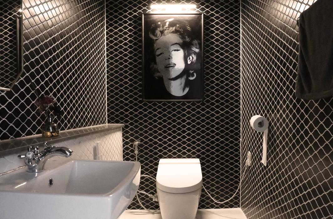 Bathroom by 디자인스튜디오참