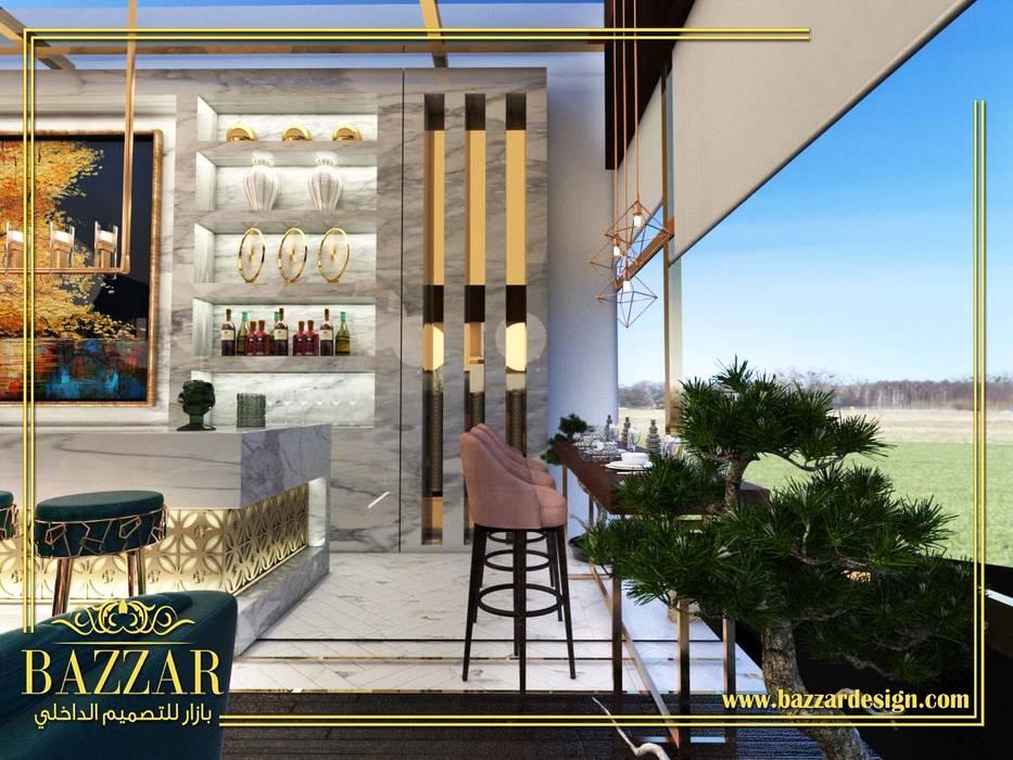 تصميم مقاهي:  مطاعم تنفيذ Bazzar Design,