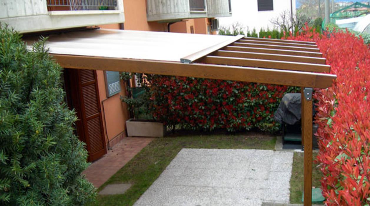 Tende Da Sole Patio : Lean to roof by mita tende da sole torino homify