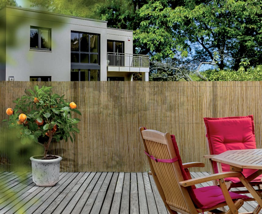 nortene brise vue fency wick coloris naturel balcon. Black Bedroom Furniture Sets. Home Design Ideas