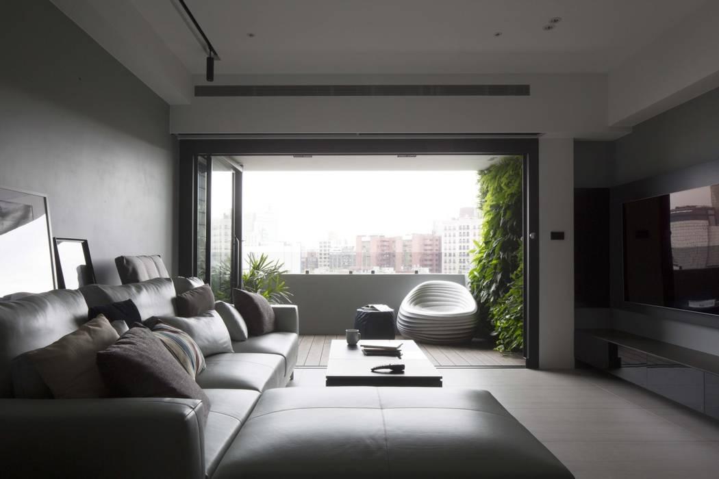 Varandas, alpendres e terraços modernos por 昕益有限公司 Moderno