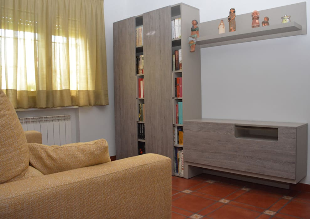Salita después Salones de estilo clásico de Almudena Madrid Interiorismo, diseño y decoración de interiores Clásico