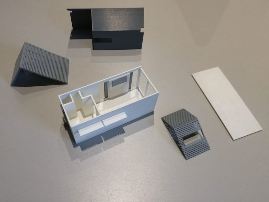 IMPALA 3D PRINTED PARTS by A4AC Architects