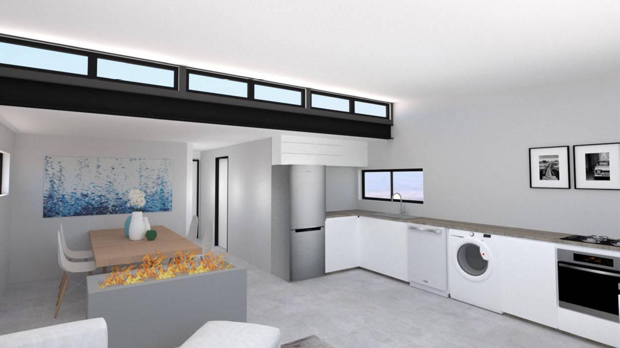 Comedores de estilo moderno de A4AC Architects Moderno