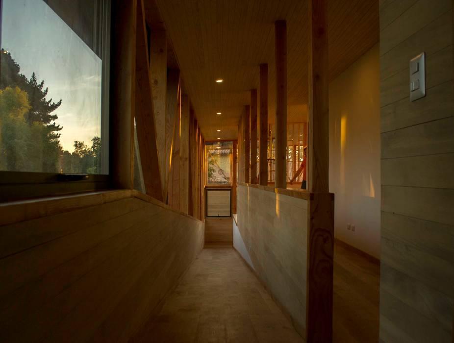 Rampas de PhilippeGameArquitectos Moderno Madera Acabado en madera