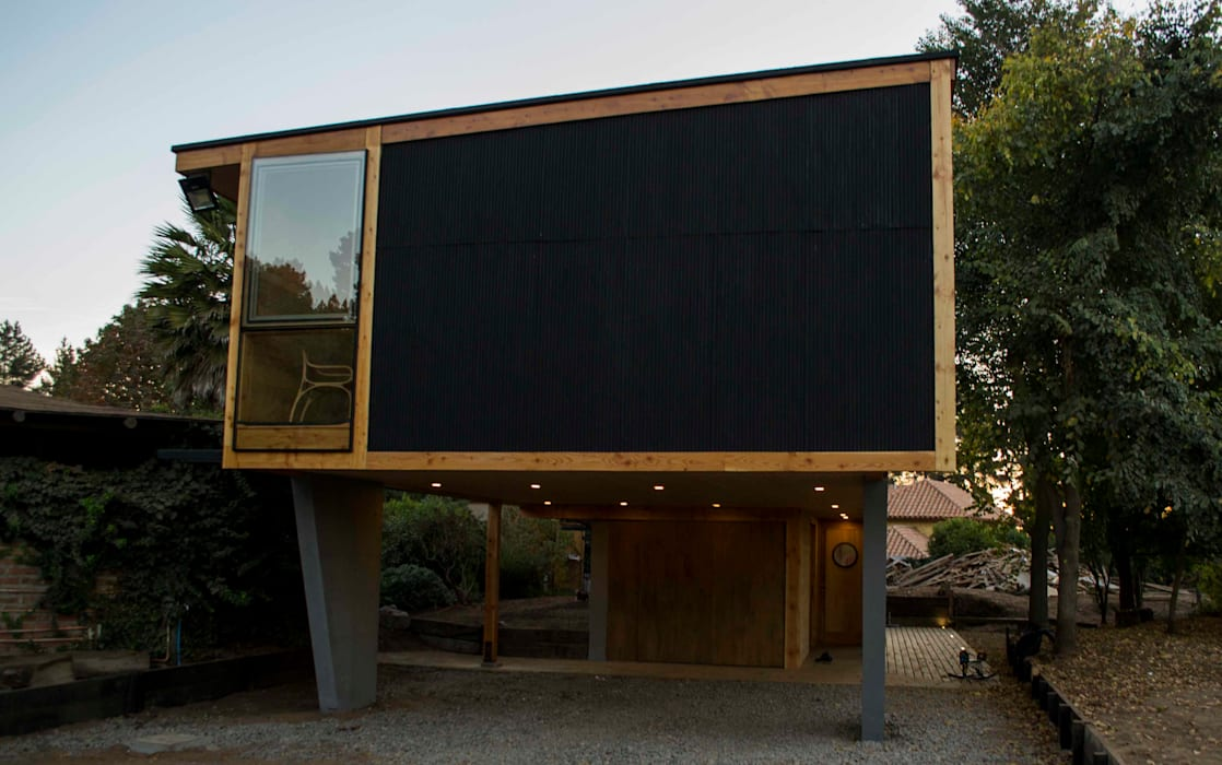 Fachada SurEste: Casas de estilo  por PhilippeGameArquitectos