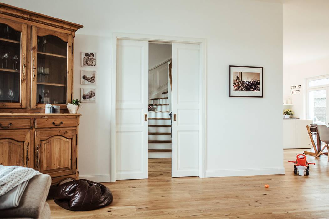 Villa Gründerzeit Mit Modernen Akzenten Wohnzimmer Von Innendesign