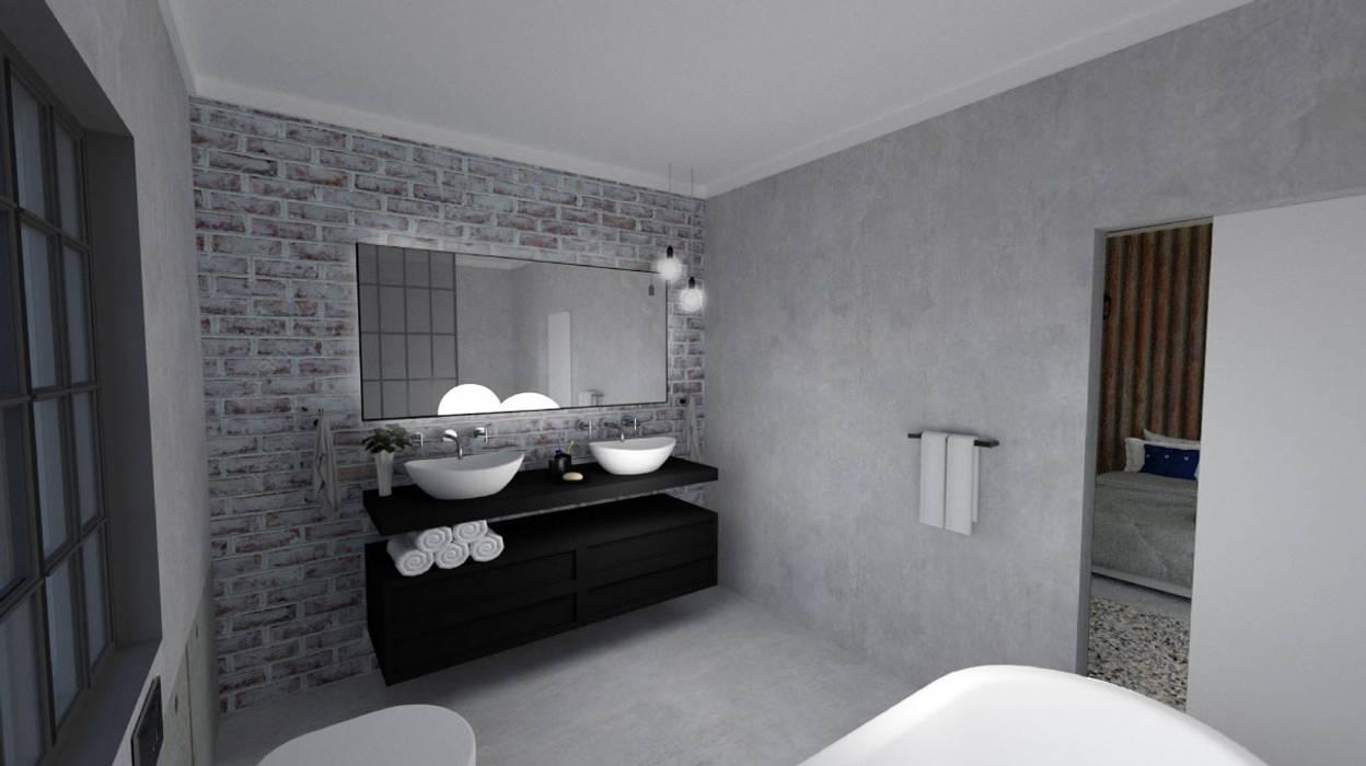 EN-Suite Bathroom Modern style bathrooms by A4AC Architects Modern Concrete