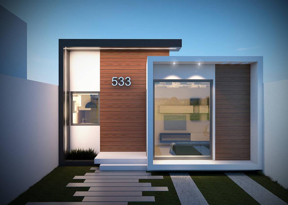 BENPE ARQUITECTOSが手掛けた二世帯住宅,