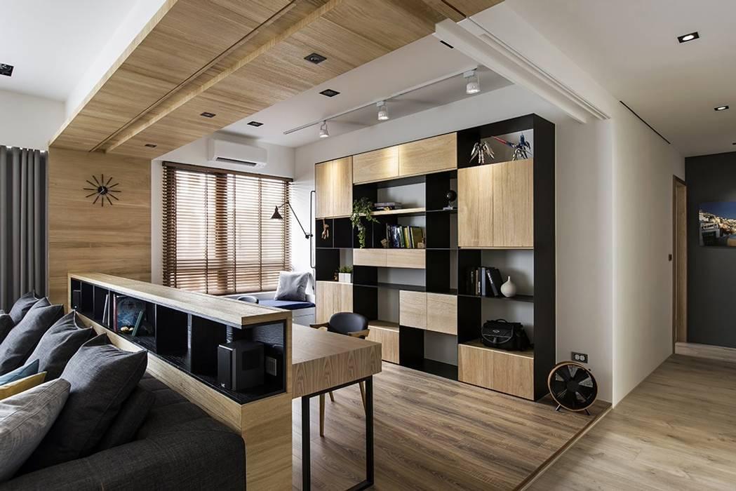 Study/office by 詩賦室內設計, Scandinavian