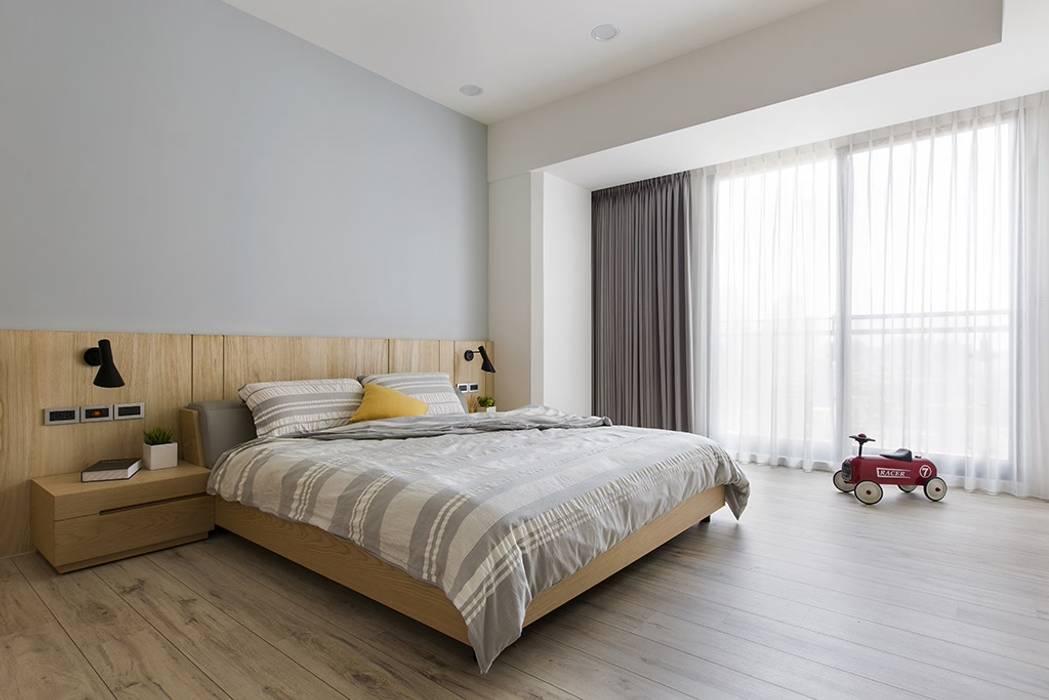 Bedroom by 詩賦室內設計, Scandinavian