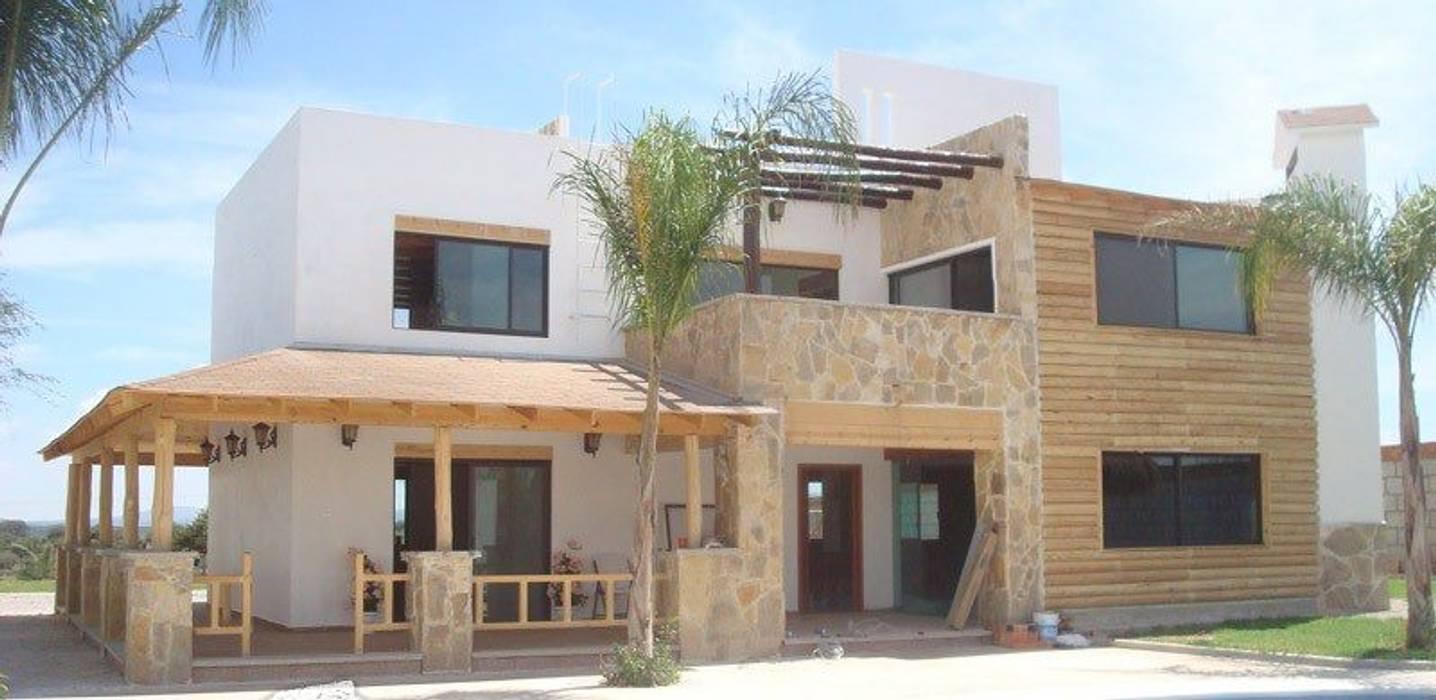 Villas by TECTUM Diseño & Construccion, Mediterranean Concrete